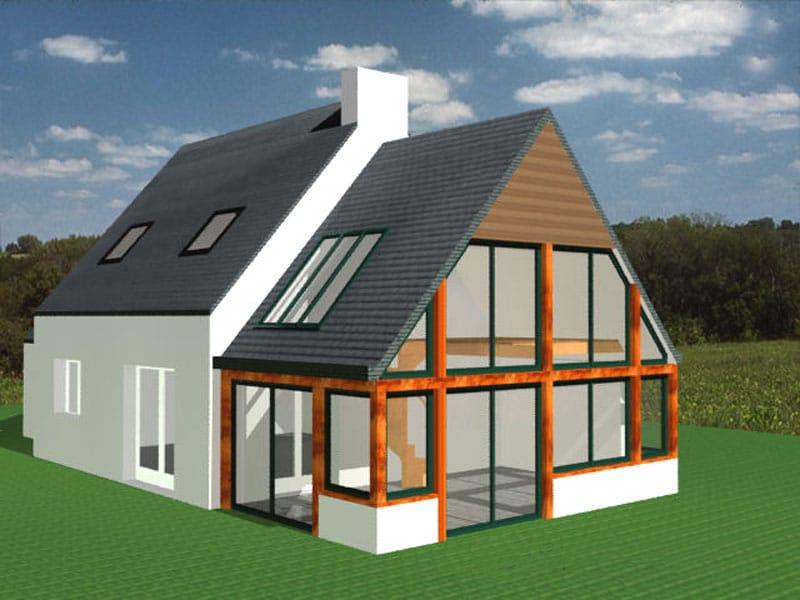Extension maison ou agrandissement maison - Agrandissement maison veranda ...