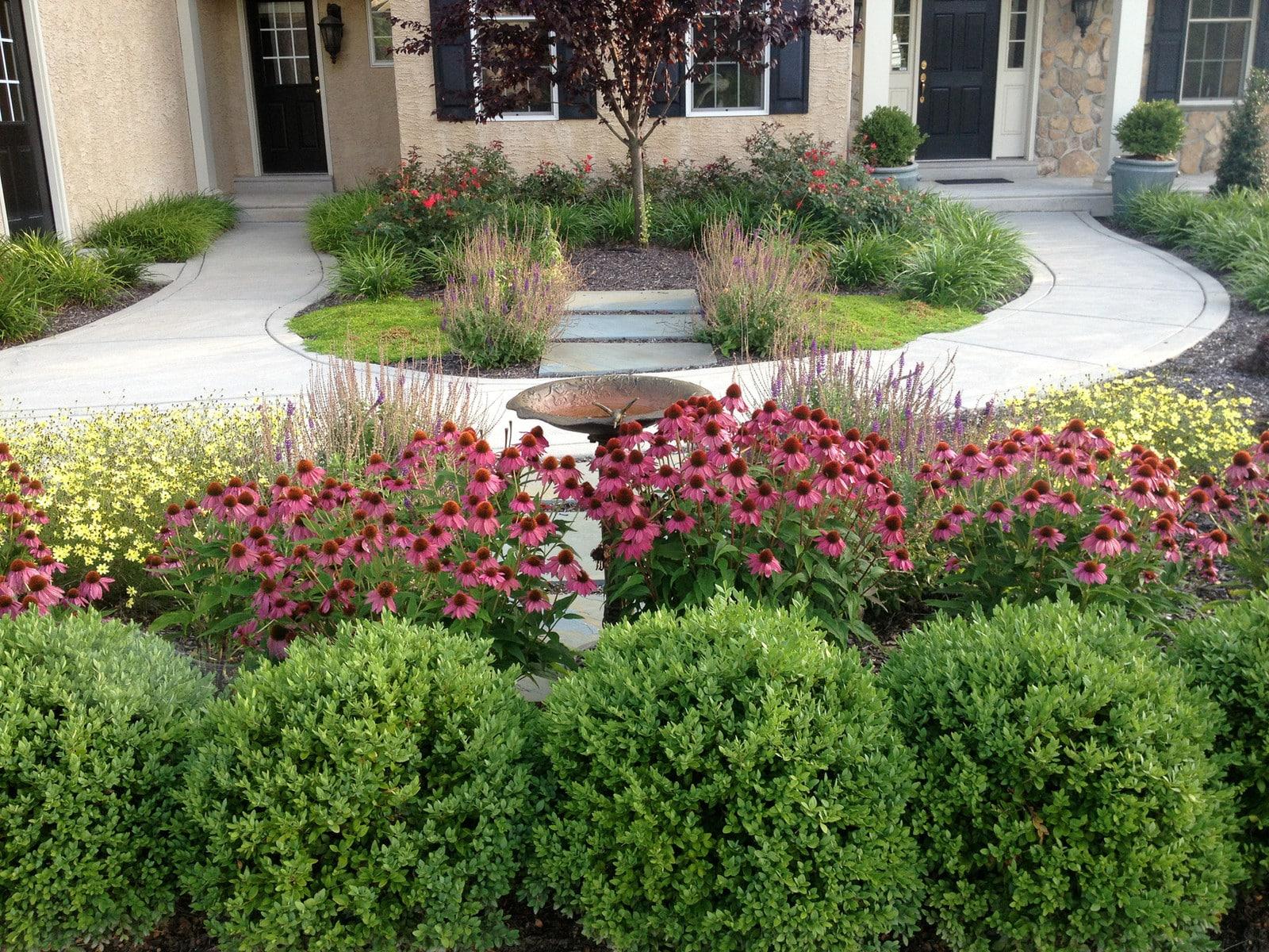 Comment Amenager Un Jardin D Entree De La Maison Moderne